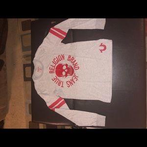 "True Religion ""Skull"" L/S shirt size Large"